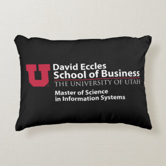 David Eccles School of Business - MSIS Decorative Cushion
