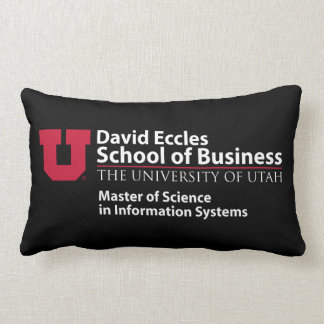 David Eccles School of Business - MSIS Lumbar Cushion