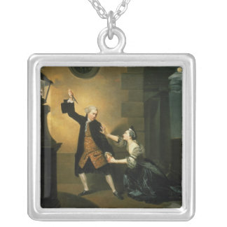 David Garrick  as Jaffier and Susannah Maria Silver Plated Necklace