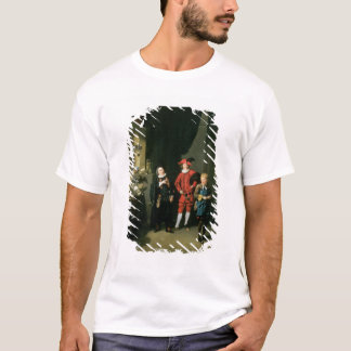 David Garrick with William Burton and John T-Shirt