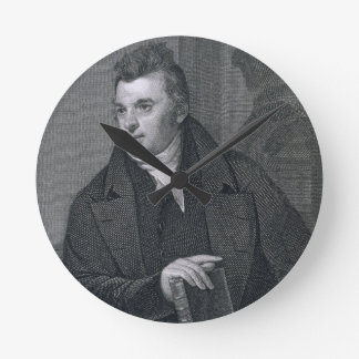 David Hosack, engraved by Asher Brown Durand (1796 Round Clock