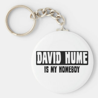 David Hume is my Homeboy Basic Round Button Key Ring