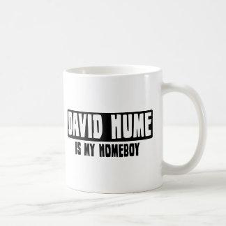 David Hume is my Homeboy Basic White Mug