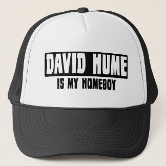 David Hume is my Homeboy Trucker Hat