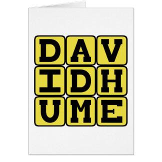 David Hume, Scottish Philosopher Greeting Card