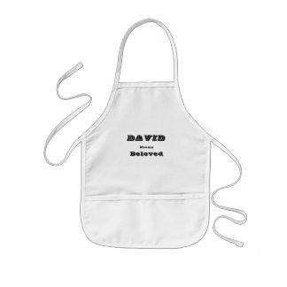 David Kids Apron