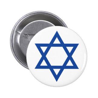 David - King of Israel 6 Cm Round Badge