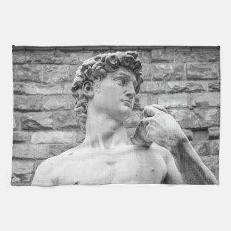 David (Michelangelo) Tea Towel