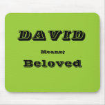David Mouse Pad