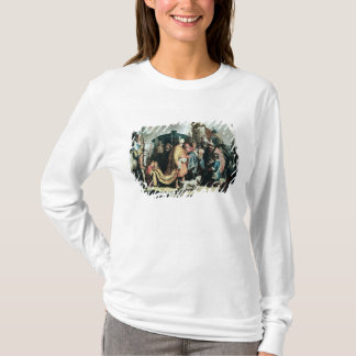David Offering the Head of Goliath to King Saul T-Shirt