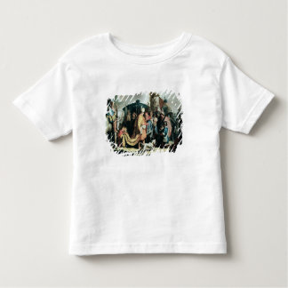 David Offering the Head of Goliath to King Saul Toddler T-Shirt