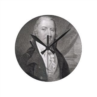 David Ramsay, engraved by James Barton Longacre (1 Round Clock