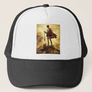 David slays Goliath Trucker Hat