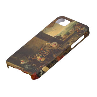 David Teniers the Younger- Guardroom iPhone 5 Cases