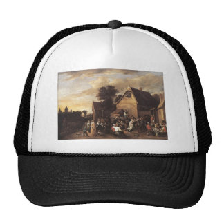 David Teniers the Younger- Kermess Cap