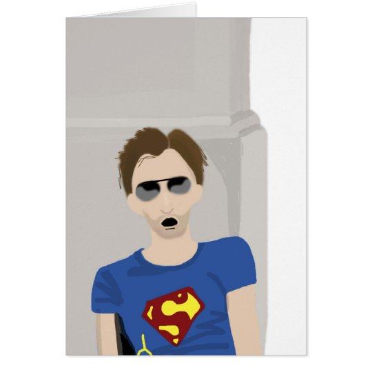 David Tennant Blank Card