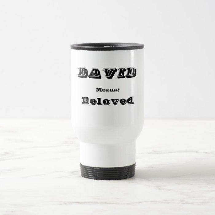 David Travel Mug