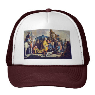 David With The Head Of Goliath Before Saul Mesh Hats