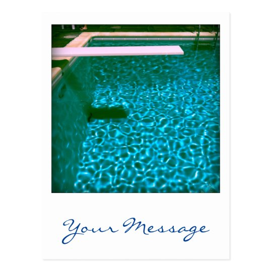 David's Pool 09iso Custom 3d Computer Art postcard