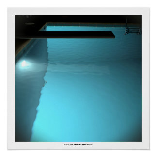 DAVID'S POOL SERIES p09d- 3D Computer ART Poster