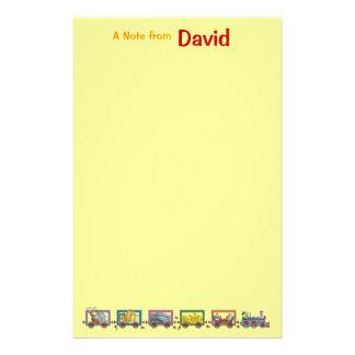 David's Secret Travels Stationery