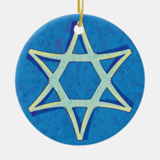 David's Star Hanukkah Ornament