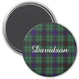 Davidson clan Plaid Scottish tartan Magnet