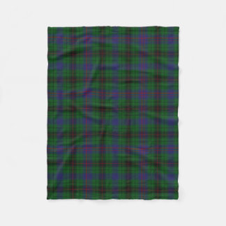 Davidson Clan Tartan Plaid Fleece Blanket