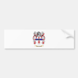 Davidson Coat of Arms Bumper Sticker