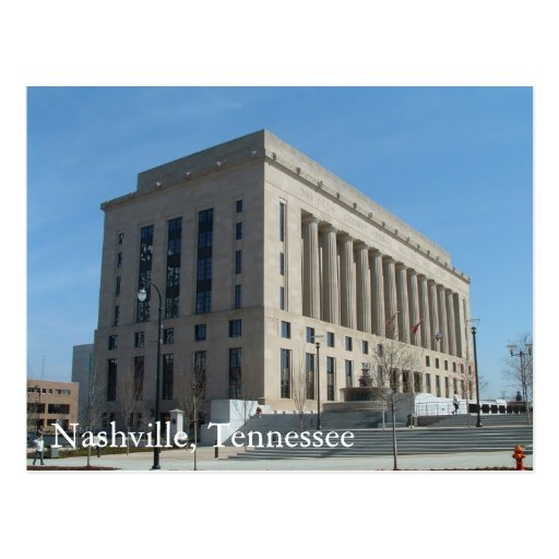 Davidson County Courthouse in Nashville Post Cards