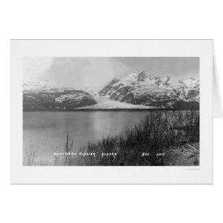 Davidson Glacier Alaska 1914 Greeting Card