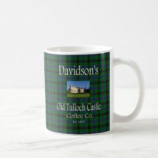 Davidson's Old Tulloch Castle Coffee Co. Basic White Mug