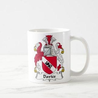 Davies Family Crest Coffee Mug