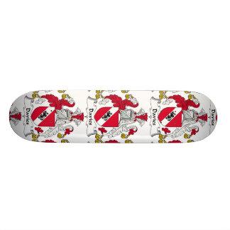 Davies Family Crest Skate Boards