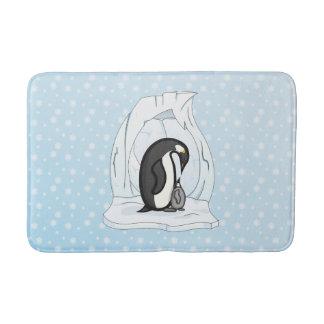 Davin and Annie the Penguins Bath Mat