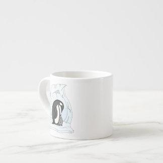 Davin and Annie the Penguins Specialty Mug Espresso Mugs