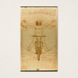 DaVinci  Dirt Bike Motocross Business Card