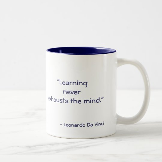 DaVinci Quote Coffe Mug