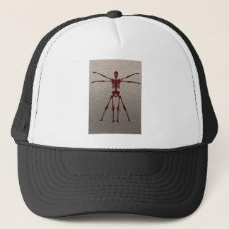 DaVinci Skeleton Trucker Hat