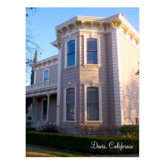 Davis, California Postcard