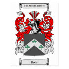 Davis (Ireland) Coat of Arms Postcard