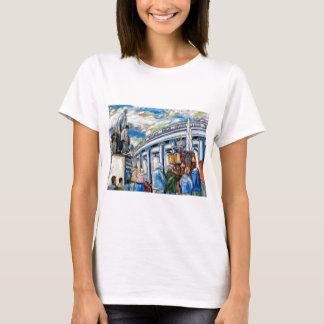 davis monument dame street dublin T-Shirt