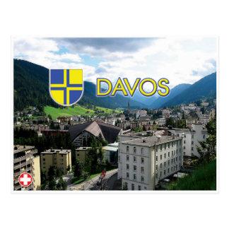 Davos - Switzerland Postcard