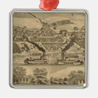 Davosburgh coal works christmas ornament