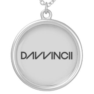 Davvincii Silver Plated Necklace