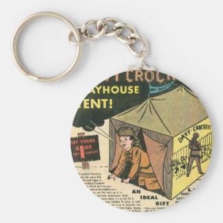 Davy Crockett Playhouse Tent Keychains