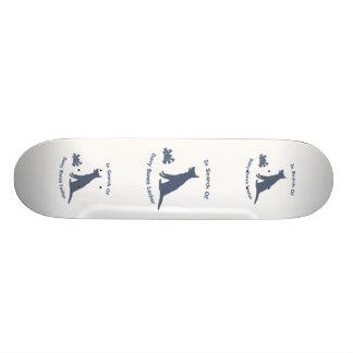 Davy Jones Bones Dog Skate Boards