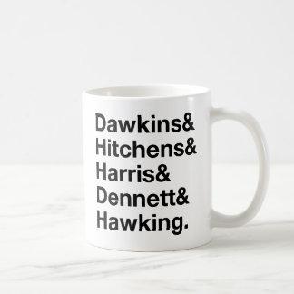 Dawkins&Hitchens&Harris&Dennett&Hawking - Science Coffee Mug