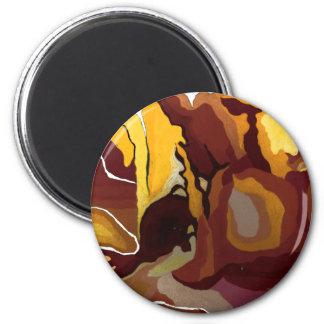 Dawn 6 Cm Round Magnet