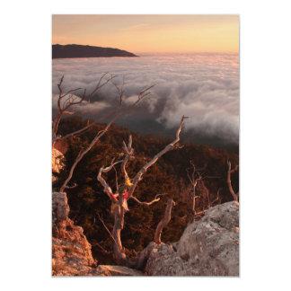 Dawn Ai-Petri Yaila nature reserve, Alupka Russia Personalized Announcement